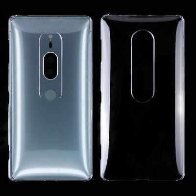 For Sony Xperia XZ2 Premium Crystal Clear hard case DIY case Back cover