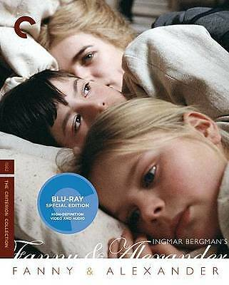 Fanny and  Alexander Blu-ray 3-Disc Criterion Collection Ingmar Bergman NEW SEAL