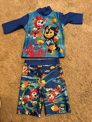 boys 2 piece swimwear Size 12-18 Months