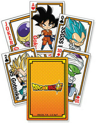 Dragon Ball Super - Resurrection F Playing Cards (Game Misc Used Very Good)