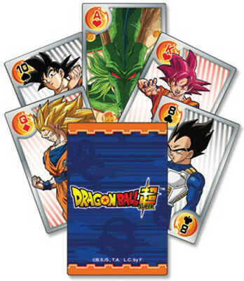 Dragon Ball Super - Battle Of Gods Playing Cards (Game Misc Used Very Good)