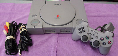 Sony PlayStation Gray Console Tested and Works Great! PS1 System