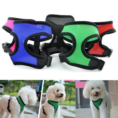 Breathable Mesh Small Dog Pet Harness Puppy Vest For Chihuahua XS-XL
