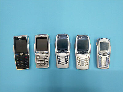 Nokia E70, 6800a, 6810, 6820a vintage rare mobile phones