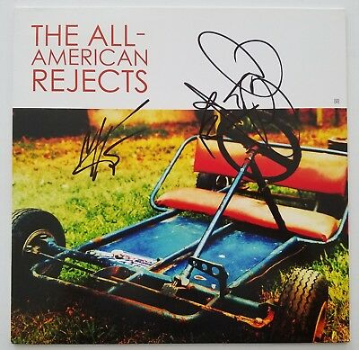 The All American Rejects Signed Self Titled Vinyl Record LEGENDS RAD