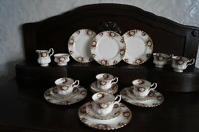 KAFFEEGESCHIRR * ROYAL ALBERT *  * Bon China * England *
