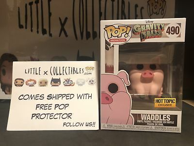 Funko Pop Waddles #490 Gravity Falls Hot Topic Exclusive