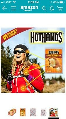 NEW  10 Count Value Pack HOT HANDS 18 Hours Adhesive Body Warmers