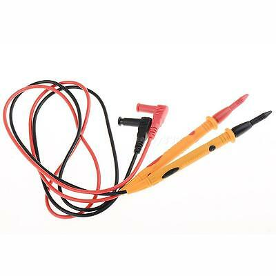 2 Pcs Digital Probe Test Leads Cable Multimeter Meter Cables 1000V 10A Universal