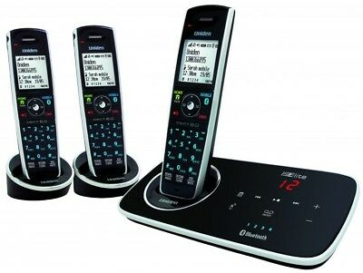 Uniden Elite 9135 Answering System & Handset + 2 Handsets with Base Chargers