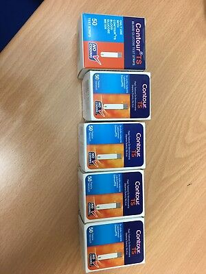 CONTOUR TS BLOOD GLUCOSE TEST STRIPS Brand New
