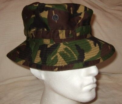 Genuine MOD DPM Camouflage Tropical Bush Hat Brand New Size 60cm