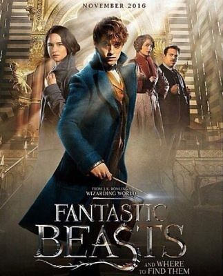 Fantastic Beasts And Where To Find Them Digital HD code WATCH NOW!! dvd included