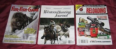 Mixed Lot of 3 Hunting Reloading Magazines 2018/ 2019 Brand New Free Shipping
