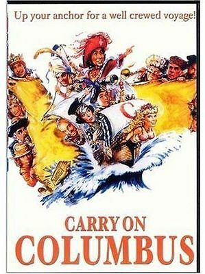 CARRY ON COLUMBUS (1992 Rik Mayall)  - DVD - UK Compatible