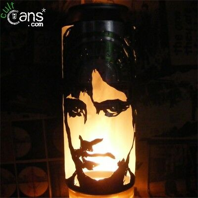 Johnny Marr Beer Can Lantern! The Smiths Pop Art Portrait Lamp, Unique Gift!