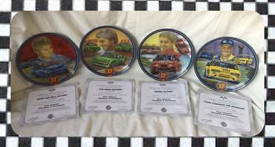 "Dick Johnson ""Champion of Champions"" Set of 4 plate collection"