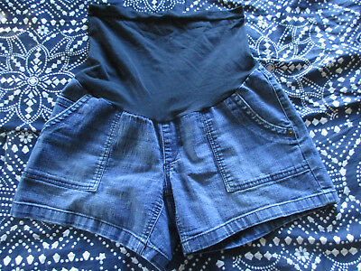 Oh Baby Womans Pregnancy Jean Shorts Size S