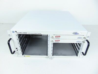 Spirent SMB-6000C SmartBits 6000C Test Mainframe with 1x CTL-6001A Controller