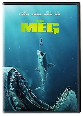 The Meg (DVD, 2018) Free Shipping to the US