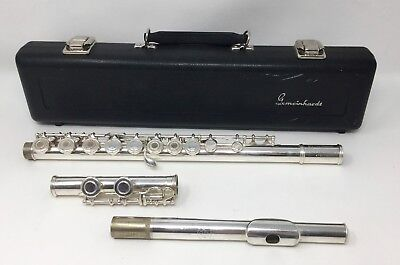 Gemeinhardt FLS3 Open Hole Silver Plated Flute with Case