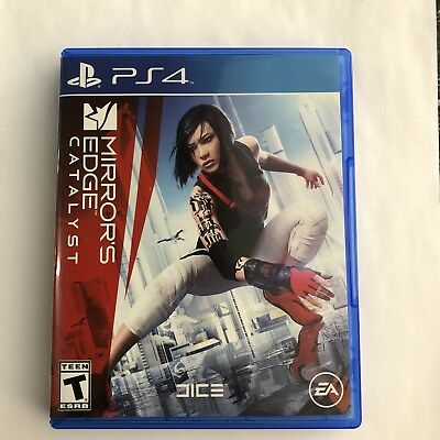 Mirrors Edge Catalyst PS4 (very good condtion)