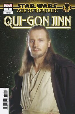 STAR WARS AGE REPUBLIC QUI-GON JINN #1 MOVIE VAR 1st Print (WK49.18)
