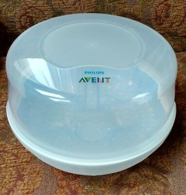 Philips AVENT Microwave Steam Sterilizer for Baby Bottles ~ NEW - 1757