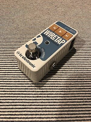 TC Electronic WireTap Riff Recorder Compact Guitar Effect Pedal