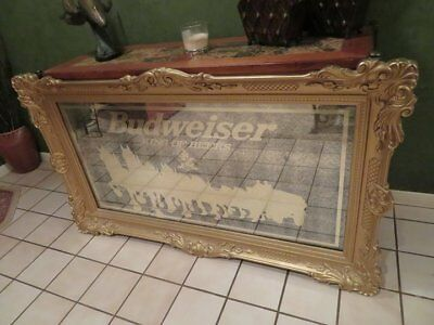Budweiser Clydesdale Mirror - LOCAL PICK UP ONLY in ABILENE TX