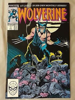 Wolverine #1 (Nov 1988, Marvel)