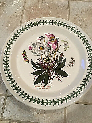 Portmeirion BOTANIC GARDEN CHRISTMAS ROSE Dinner Plate