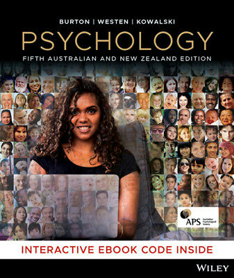 Psychology, 5th Australian and New Zealand Edition with CyberPsych
