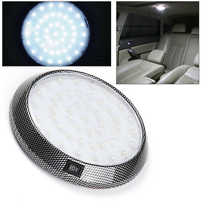 12V 46Led Caravan Boat Truck Car Interior Roof Ceiling Dome Cabin Light White