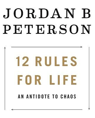 *PAPERBACK* 12 Rules for Life :An Antidote to Chaos Jordan Peterson *PAPERBACK*