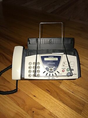 Brother Fax-575 Personal Plain Paper Fax Phone and Copier,