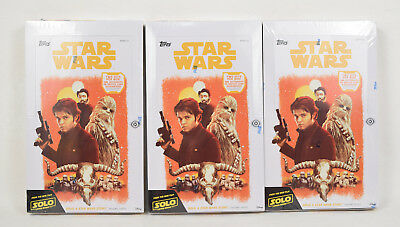 Solo A Star Wars Story Topps 24 Pack Box 8 Cards Sealed Hobby Donald Glover