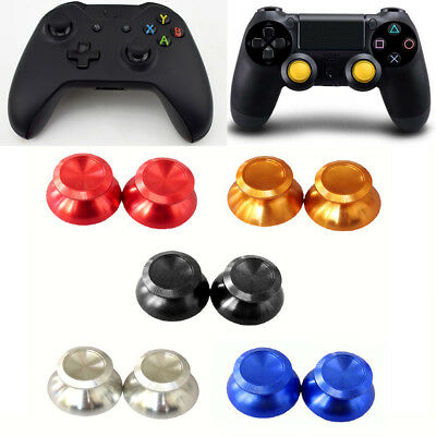 Aluminum Joystick Thumb Stick Grip Cap Covers For PS4 Xbox One Analog Controller
