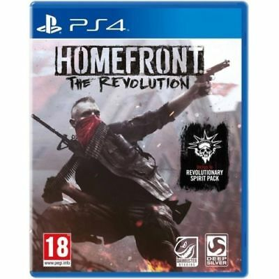 Homefront The Revolution Day One Edition PS4 Game PAL Version New & Sealed