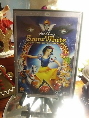 Walt Disney Snow White and the Seven Dwarfs Diamond Edition Blu-Ray + DVD Set