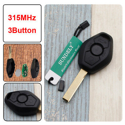1PC*EWS Remote Key 3BTN 315MHZ//433MHZ ID44 for BMW 3 5 7 SERIES E38 E39 E46 HU92