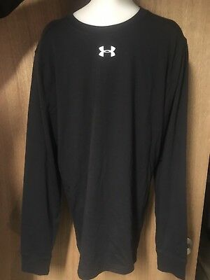 Under Armour Cold Gear Base Layer Men's XL Shirt Black