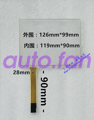 New for 5.6-inch resistive 4-wire industrial-grade touch screen glass 126*99