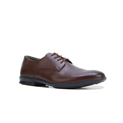 0f9060223267f HUSH PUPPIES CALE Leather Formal Business Shoes Casual Work Extra Wide -  Brown