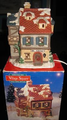 Mervyn's 1993 Village Square Lighted Doctor's Office Dr. Ashcraft Physician Hous