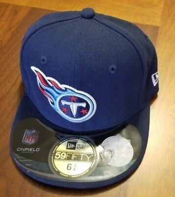 low priced 081af 0ea1a Tennessee Titans New Era Cap Hat Kids 59Fifty Size 6 3 8