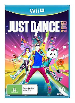 Just Dance 2018 Wii U Game Austraian Version Brand New Sealed In Stock X SALE