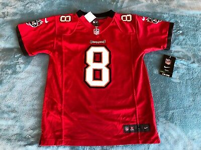 19cd5f08d Nike Mike Glennon Tampa Bay Buccaneers Youth Game Jersey - Red Size  Medium  NWT
