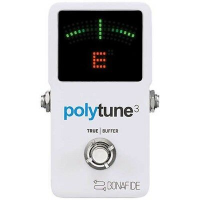 tc electronic PolyTune 3 Guitar Holistic Tuner Built-in Buffer Japan Tracking