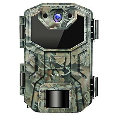 Victure Trail Game Camera 16MP Night Vision Motion Activated with Upgrade
